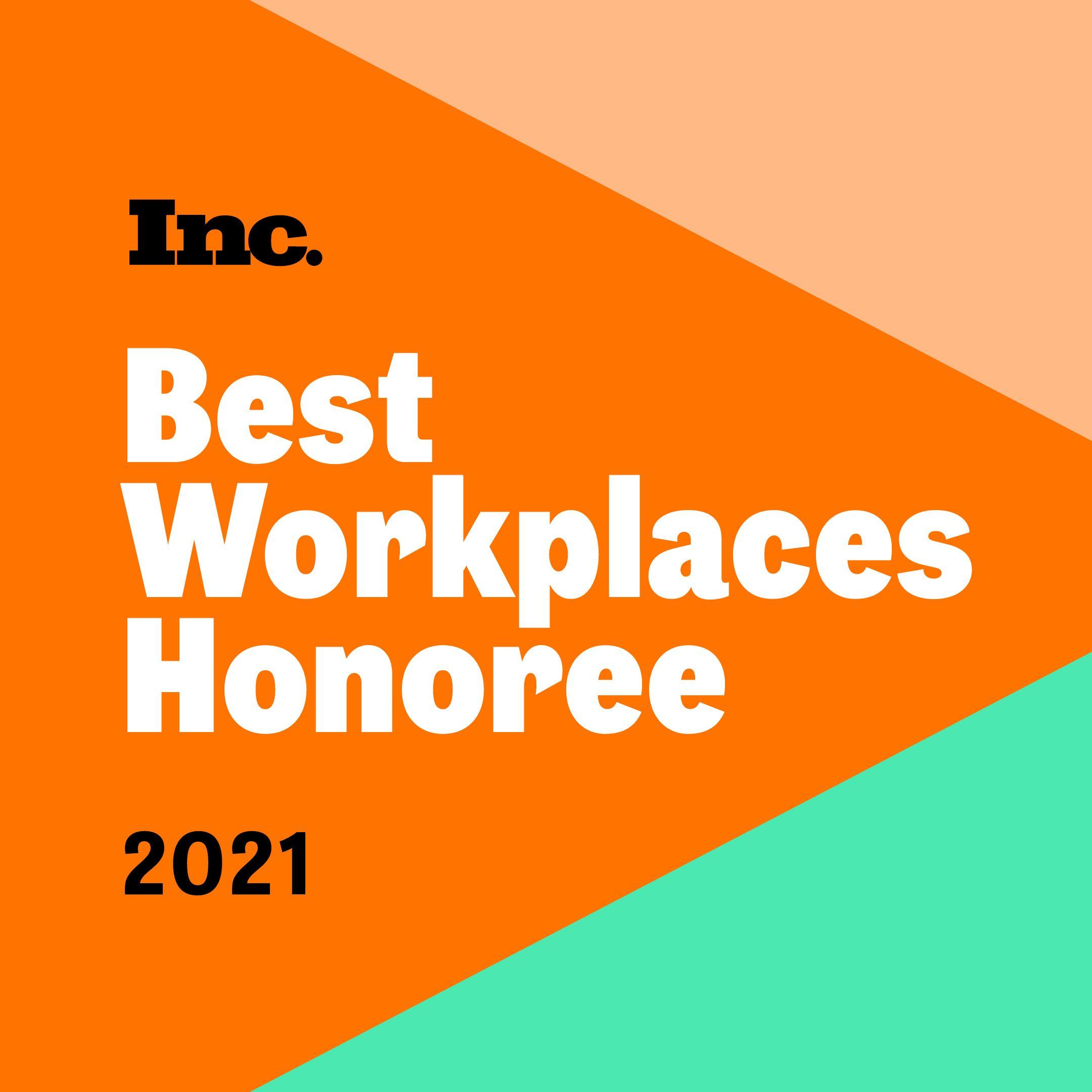 Best Workplaces Honoree 2021