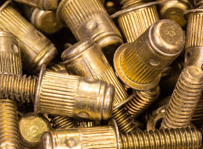 bronze fastener